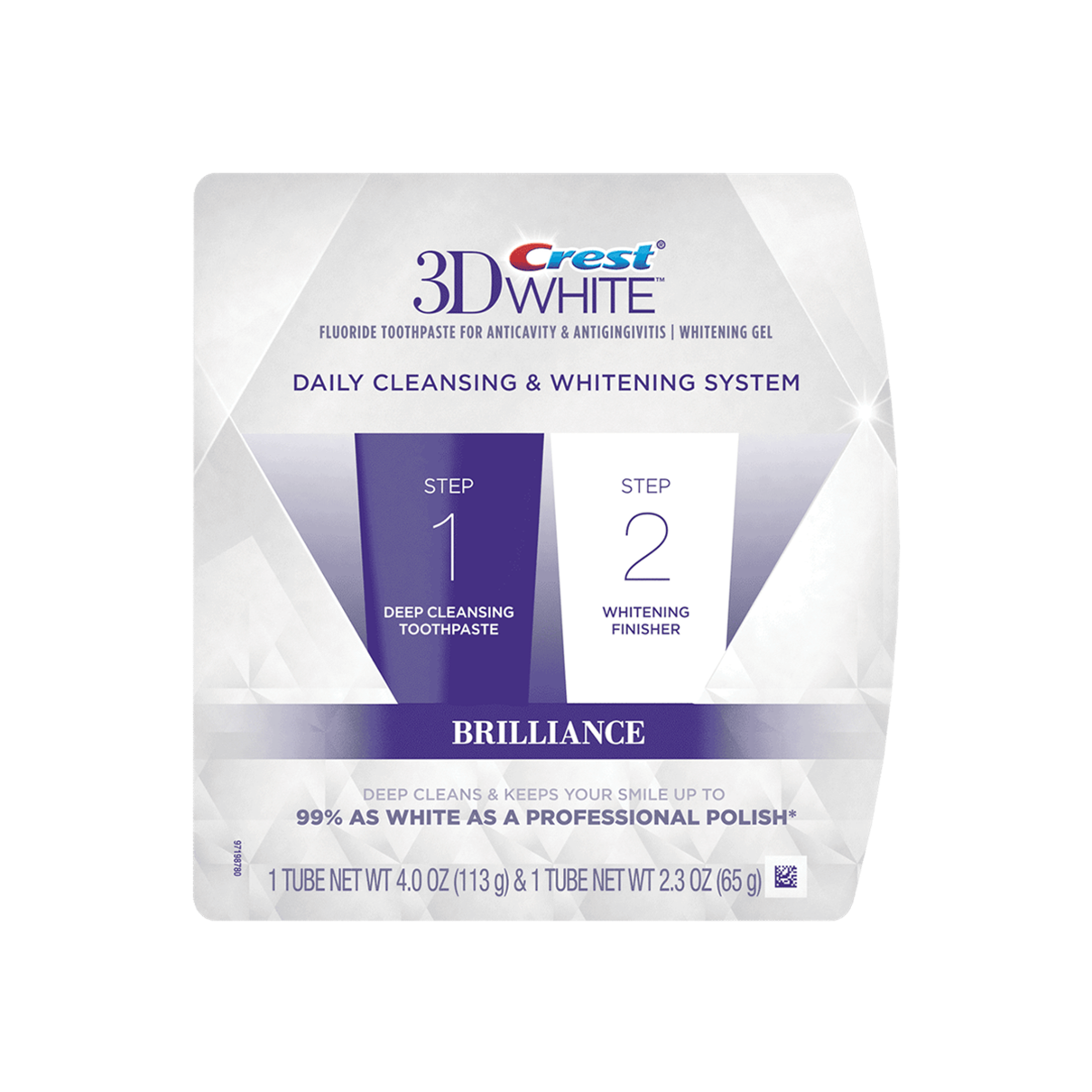 Crest 3D White Brilliance 2-Step System
