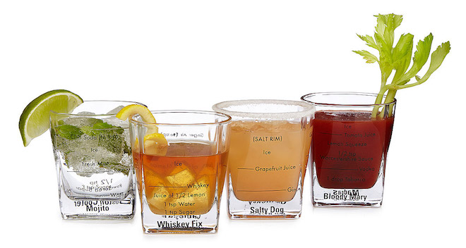 Cocktail Recipe Glasses