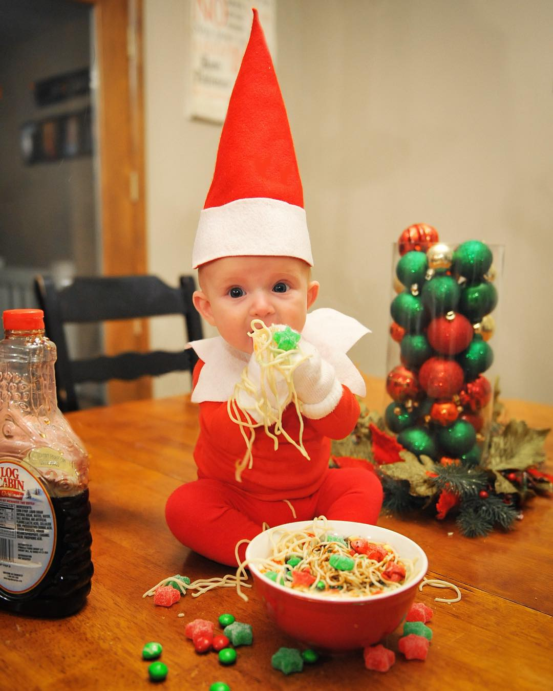 This Real Life Elf On The Shelf Is The Cutest