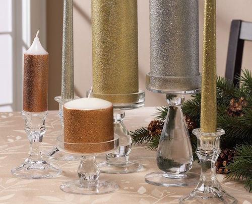 Glitter Candles_pinterest.com