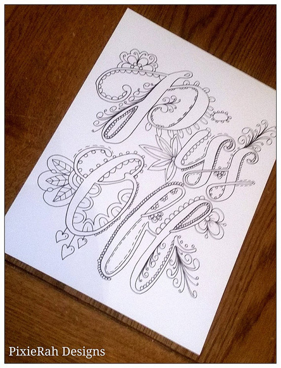 Swear Words Coloring Book 4