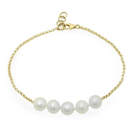 5. 5 Pearl Bracelet