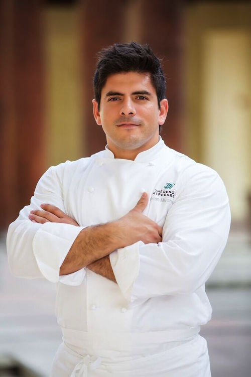 Chef Yvan Mucharraz The Resort at Pedrega