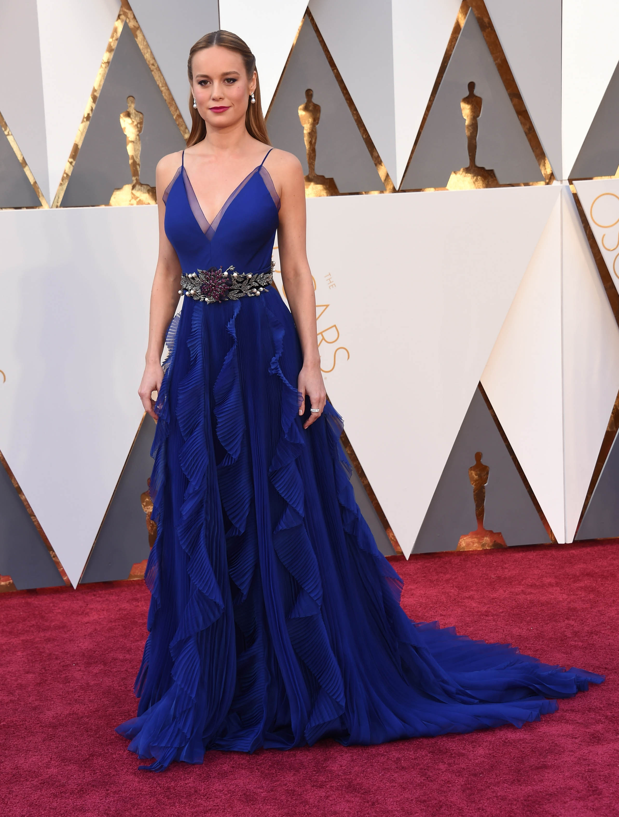 Photo by: KGC-11/starmaxinc.com STAR MAX Copyright 2016 ALL RIGHTS RESERVED Telephone/Fax: (212) 995-1196 2/28/16 Brie Larson at the 88th Annual Academy Awards (Oscars). (Hollywood, CA, USA)